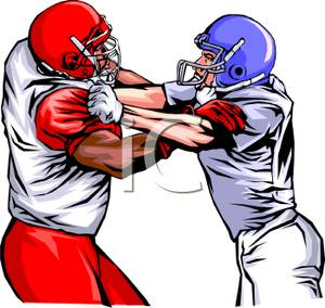 300x284 Receiver clipart football offensive lineman