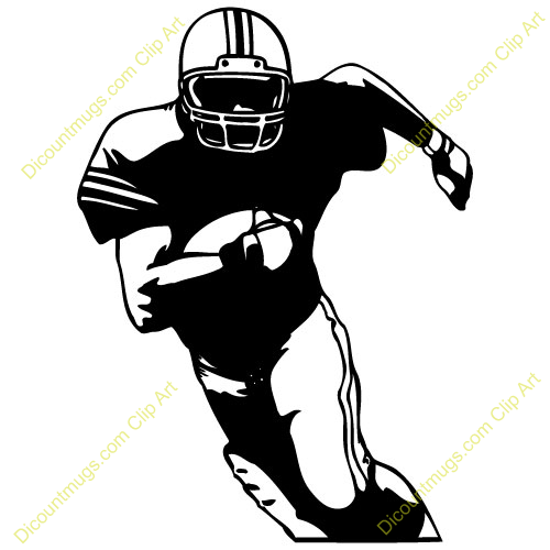 500x500 Run football clipart, explore pictures
