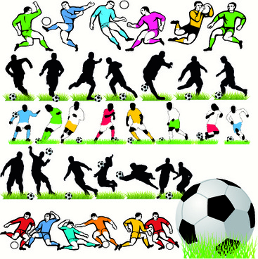 367x368 Football silhouette vector free vector download (5,815 Free vector