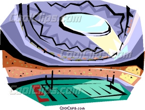 300x228 Football stadium Vector Clip art