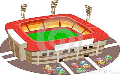 400x250 Stadium Clipart