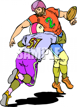 253x350 Football Tackle Clip Art, Football Tackle Clip Art