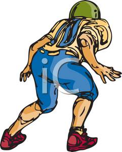241x300 Football Clipart Stance