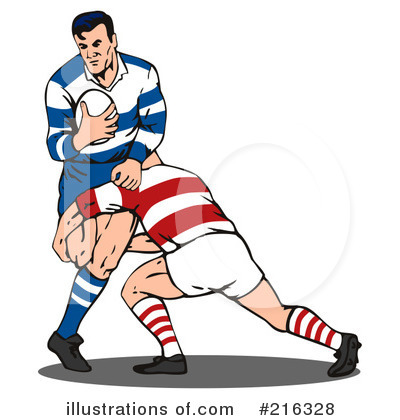 400x420 Rugby Clipart