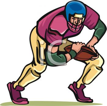 350x347 Baby Clipart Football Player