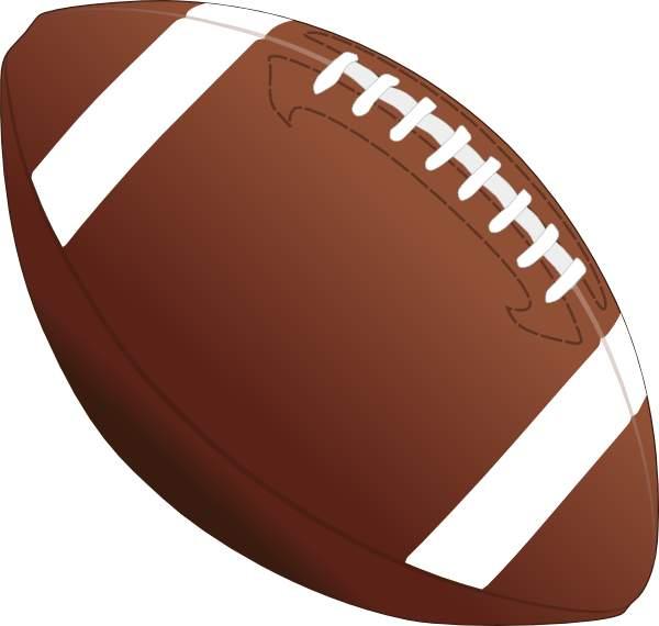 600x570 Football Clipart