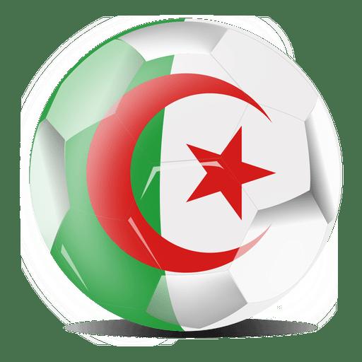 512x512 Algeria Football Player Cartoon