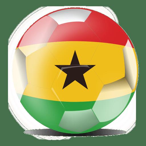 512x512 Ghana Flag Football