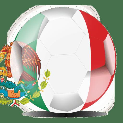 512x512 Mexico Football Flag