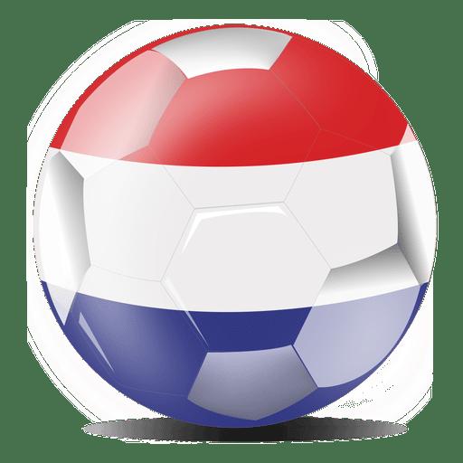 512x512 Netherlands Football Flag