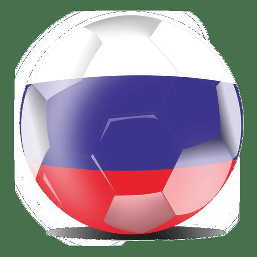 512x512 Russia Football Flag