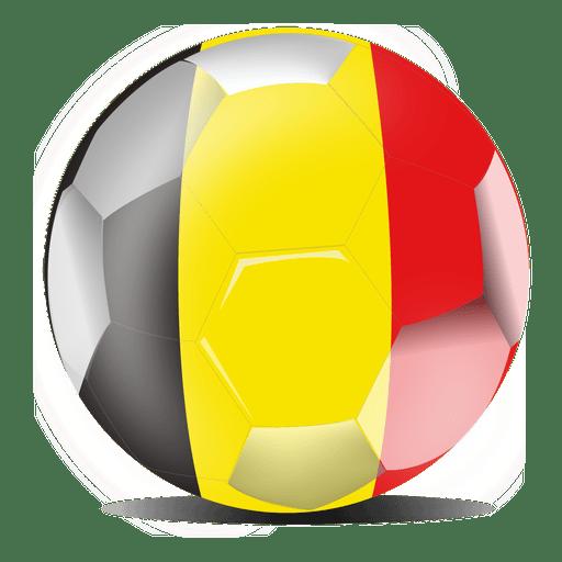512x512 Belgium Flag Football