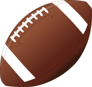 300x285 Football Clipart Transparent Background