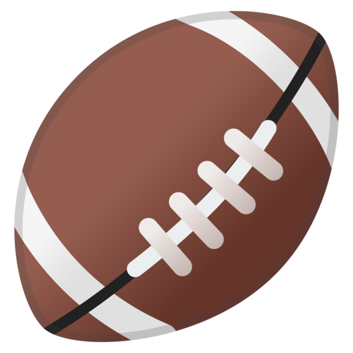 512x512 American Football Ball Png