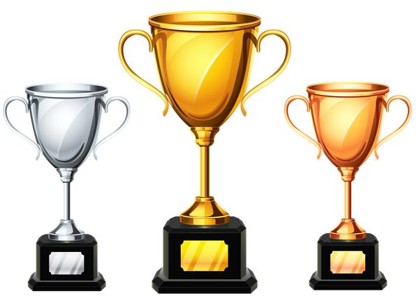 Football Trophy Clipart