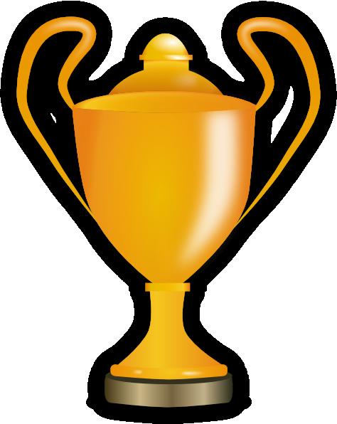 474x596 Golden Trophy Clip Art