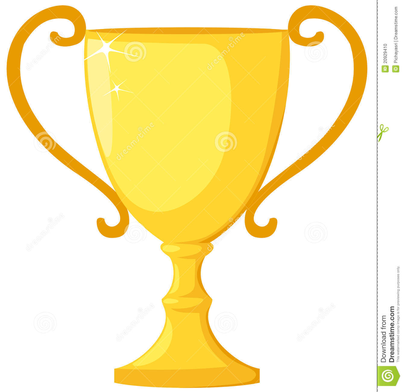 1341x1300 Trophy Clipart Yellow