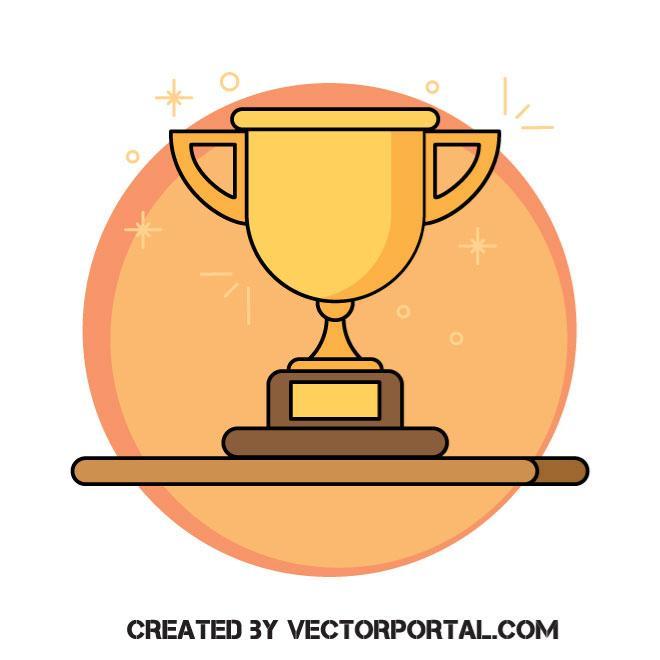 660x660 Trophy Vector Clip Art