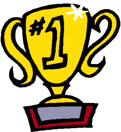 250x272 Clip Art Of A 1st Place Trophy Free Clipart Image