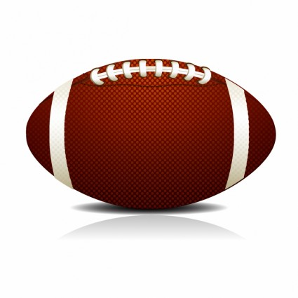 425x425 Free Football Vector Art