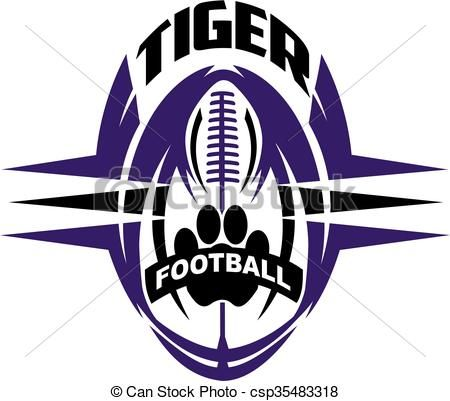 450x401 60 Best Tiger Football Clipart Designs Images