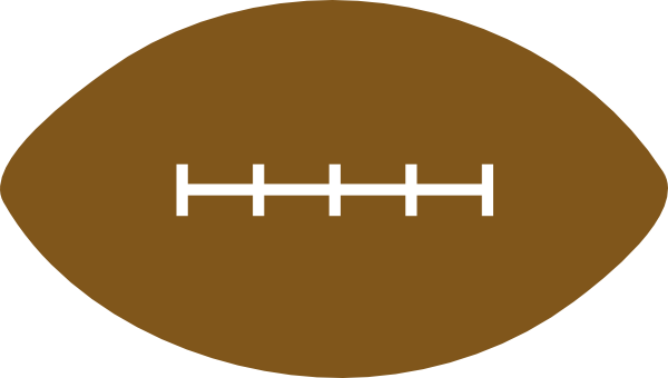 600x340 American Football Clip Art Free Vector 4vector