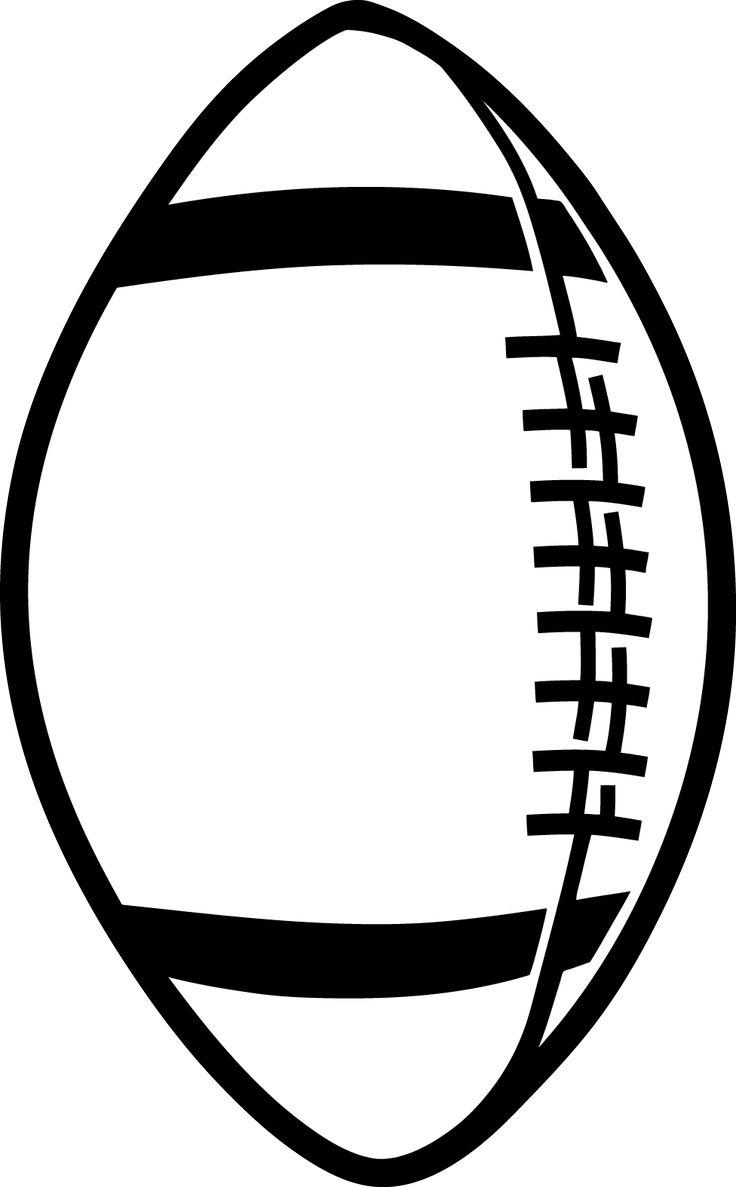 736x1187 Best Monogram Football Outline Vector Pictures Free Vector Art