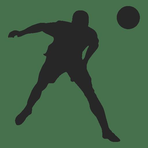 512x512 Footballer Hitting Ball