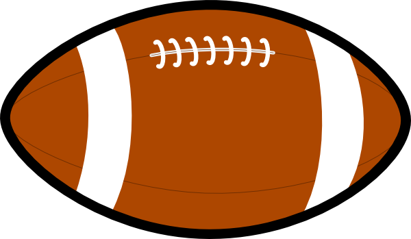 600x349 Football Clip Art