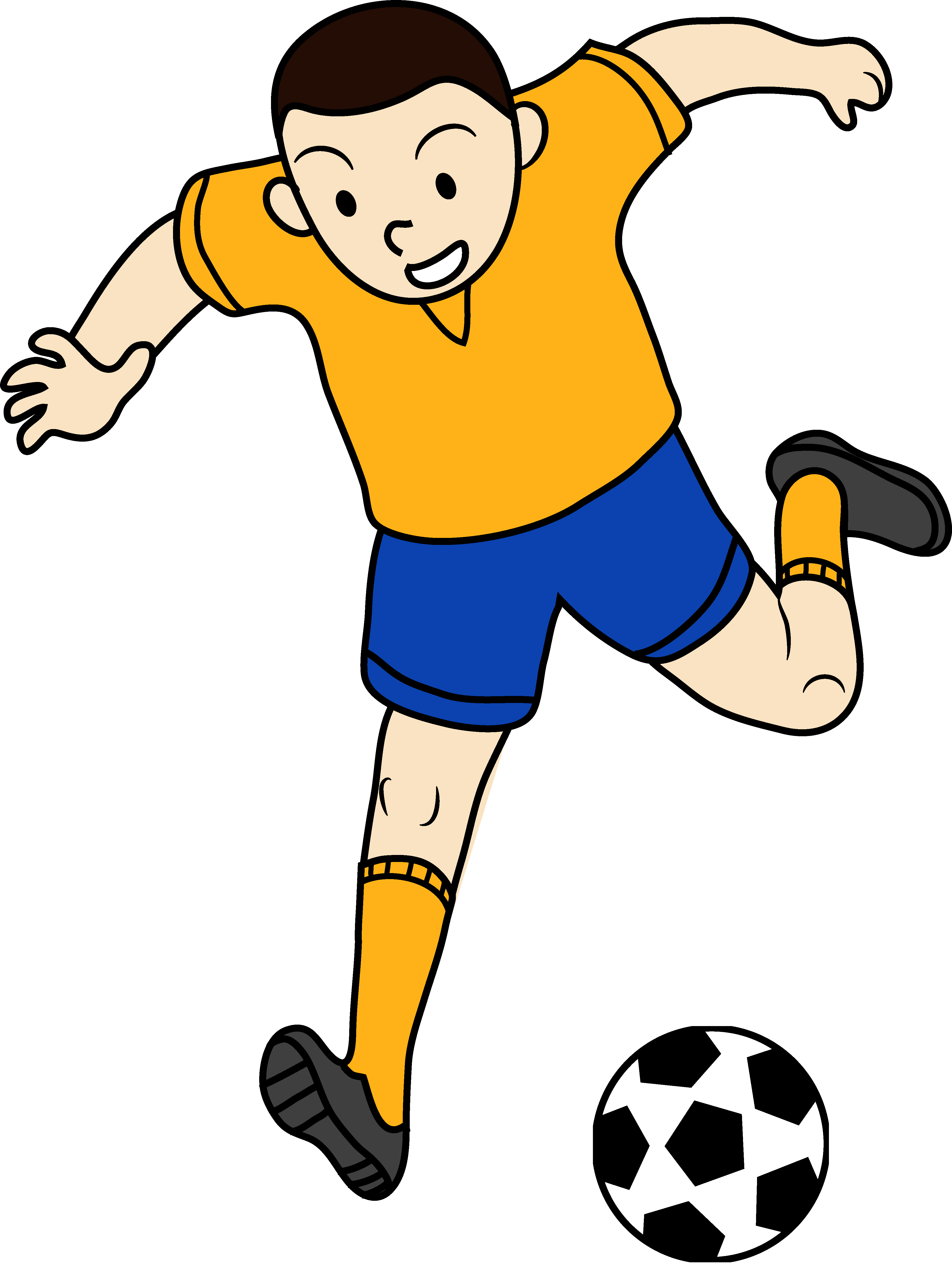 3945x5238 Soccer Player Clipart Black And White Clipart Panda