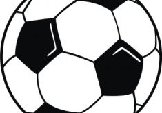 235x165 Surprising Ideas Football Images Clip Art Clipart Black And White