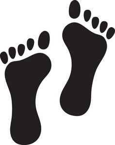 237x300 Footprint Clipart Image
