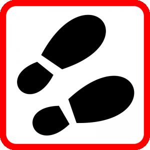 300x300 Footprint Clip Art Download