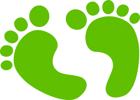 570x410 Baby Footprints Clipart Free To Use Clip Art Resource