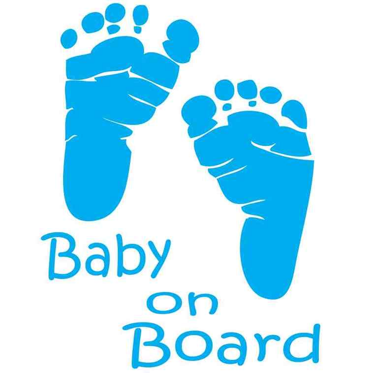 760x758 Blue Footprints Clipart