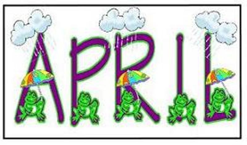 800x470 April Clip Art Free