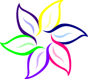 299x267 April Flowers April Clipart 4 2