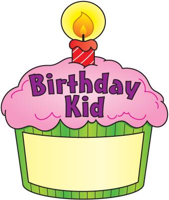 340x402 Birthday Cupcake Clip Art