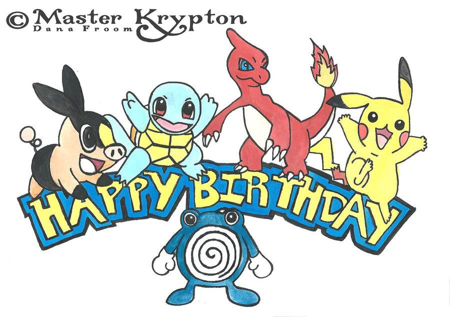 900x634 Birthday Clipart Pokemon