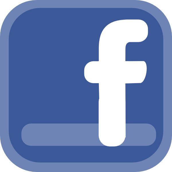 600x600 Facebook Icon Clip Art