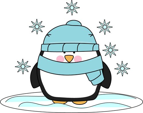 500x398 January Images About Winter On Snowflakes Clip Art