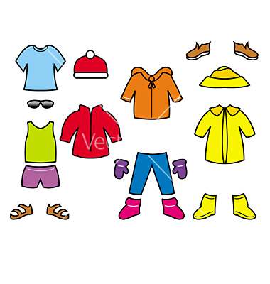 380x400 Fall Clipart Clothes For Kid