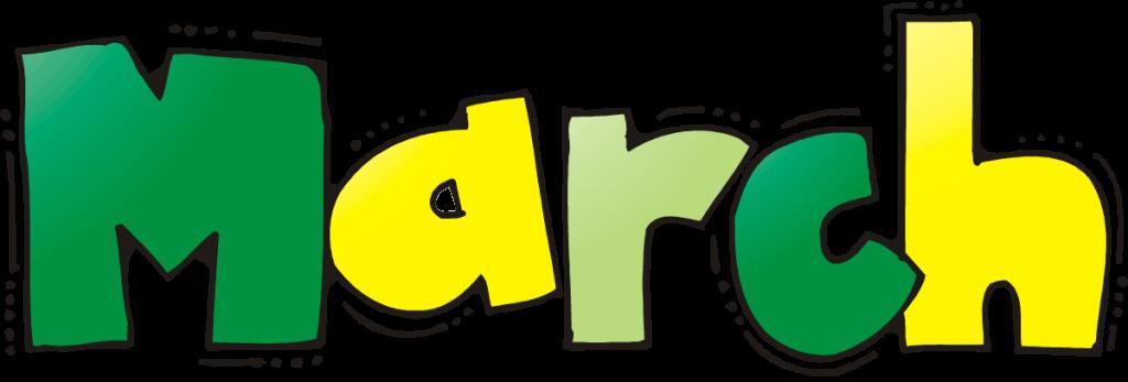 1024x347 March Clip Art March Clipart Fans