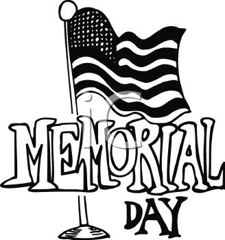 328x350 Memorial Day Clip Art Image