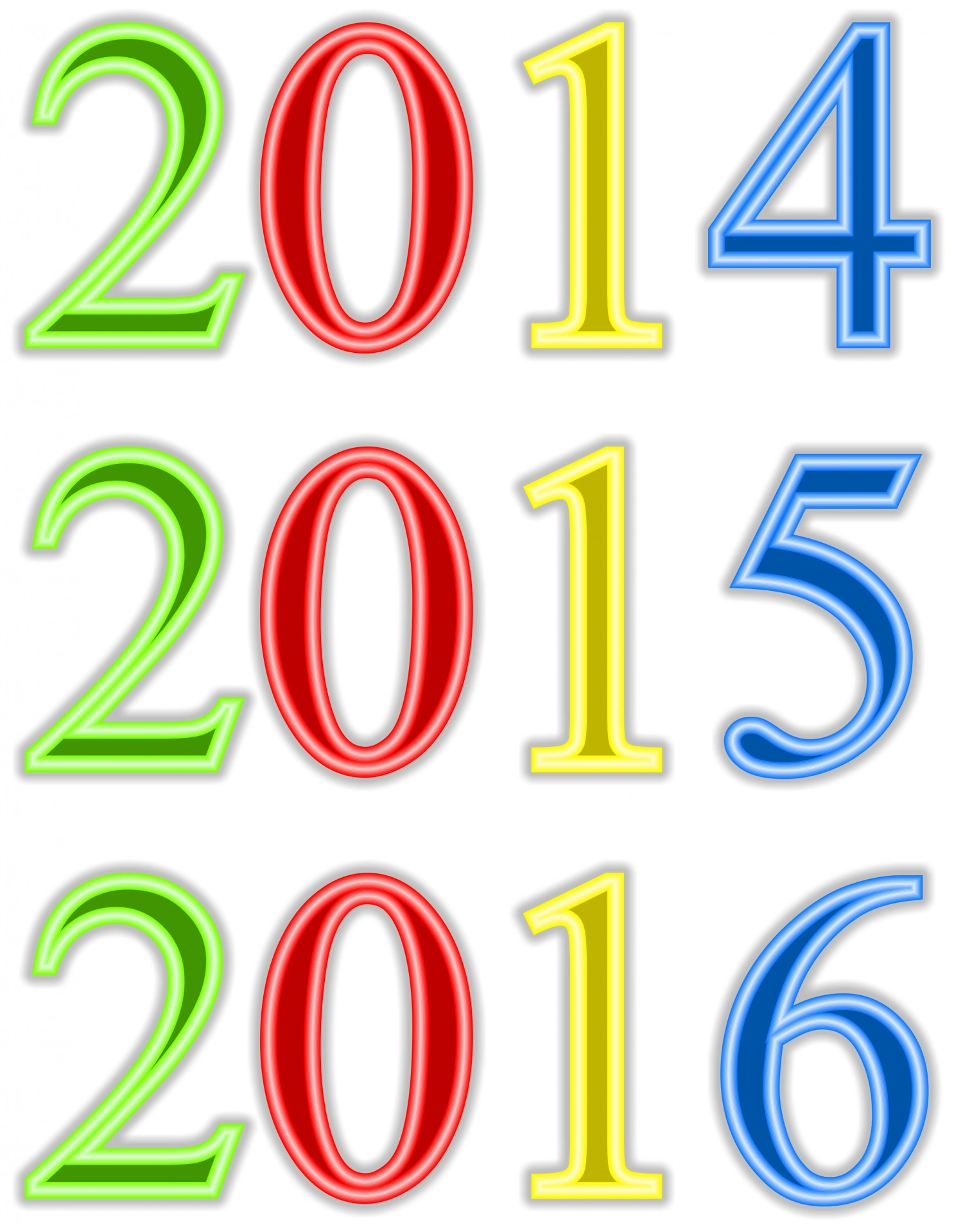 1486x1920 New Year Clip Art Free Stock Photo