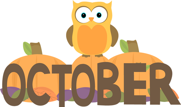 600x356 Month Of October Owl Clip Art