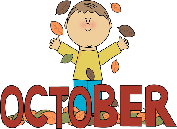 600x438 Autumn October Month Clip Art