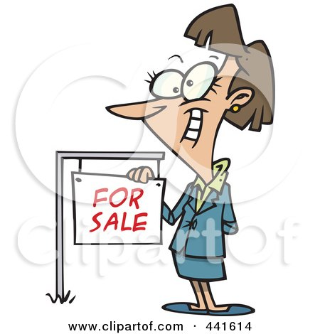 450x470 Royalty Free (Rf) Clip Art Illustration Of A Cartoon Female