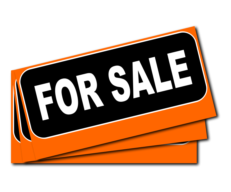 800x666 Sold Sign Clipart