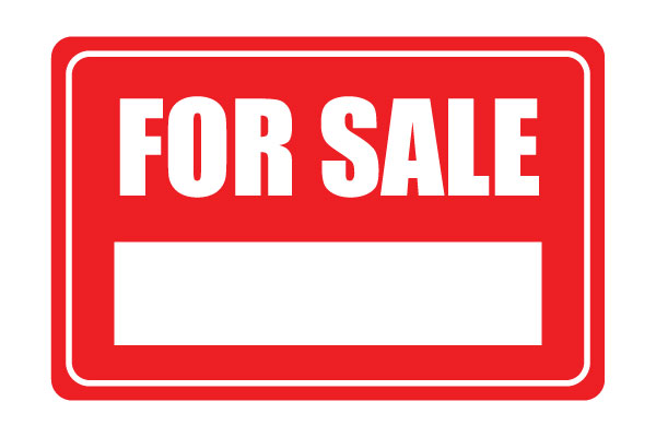 600x400 For Sale Printable Sign